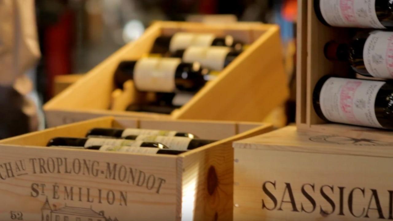vīna-kastes