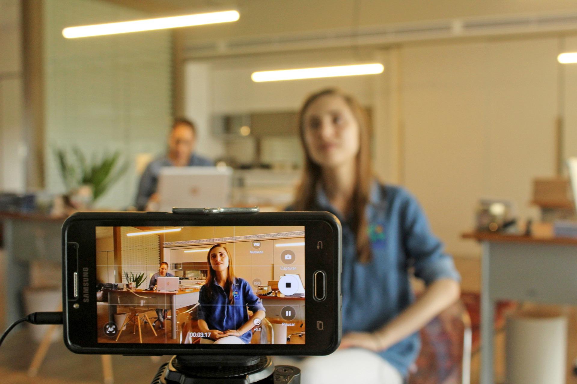 video filmēšana